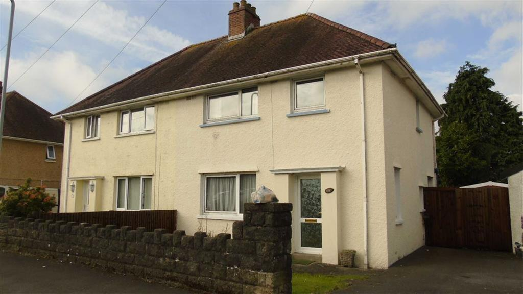 3 Bedrooms Semi Detached House for sale in Beech Crescent, Swansea, SA4