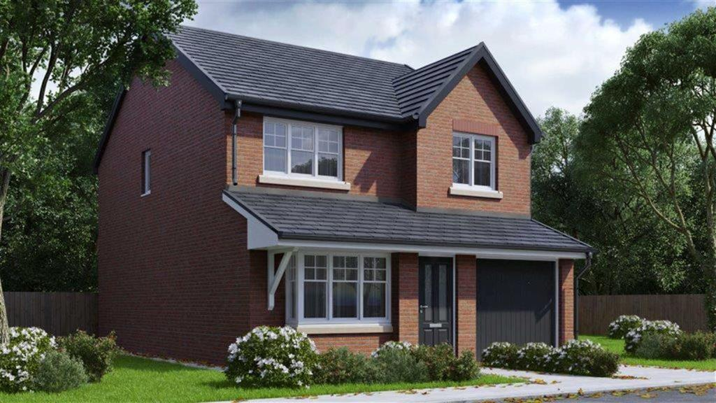 4 Bedrooms Detached House for sale in The Cleveland, Plot 3, Lakeside Gardens, Blackburn