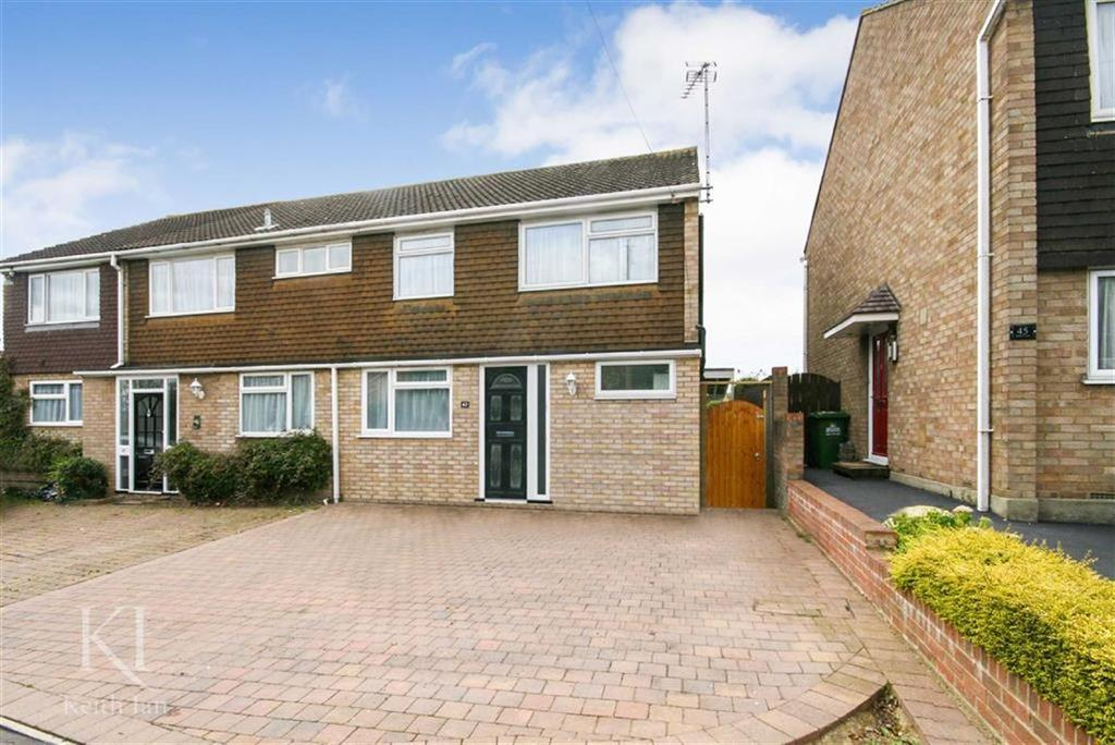 3 Bedrooms Semi Detached House for sale in Holbeck Lane, West Cheshunt