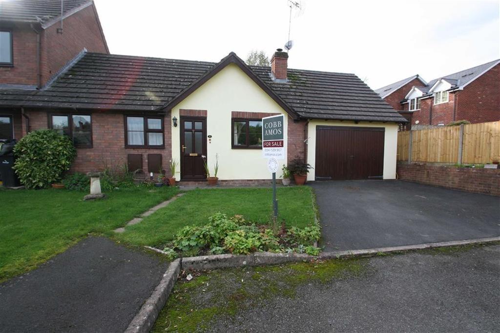 2 Bedrooms Semi Detached Bungalow for sale in Caenbrook Meadow, PRESTEIGNE, Presteigne, Powys