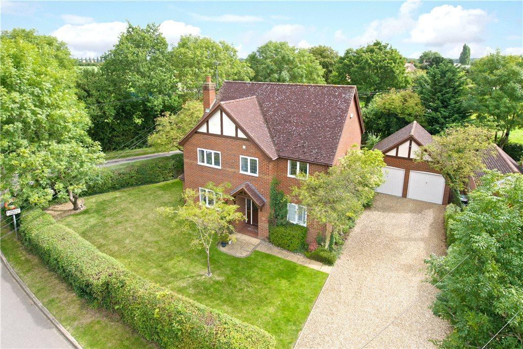 4 Bedrooms Detached House for sale in Brittens Lane, Salford, Milton Keynes, Bedfordshire