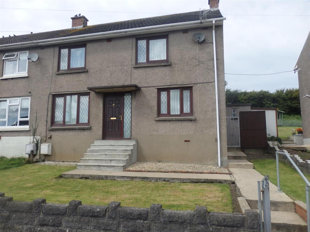 3 Bedrooms Semi Detached House for sale in Danybanc, Llanelli