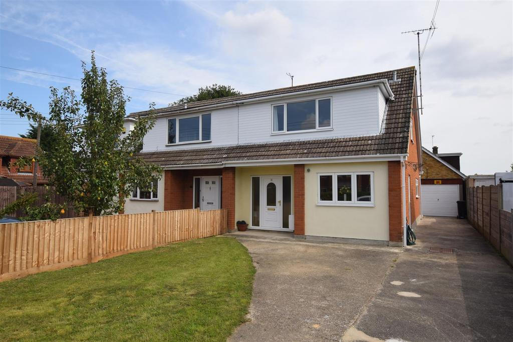 3 Bedrooms Semi Detached House for sale in The Drive, Mayland