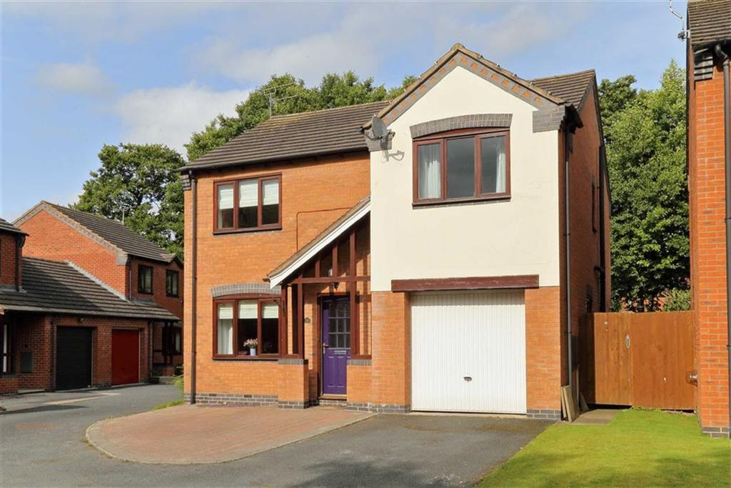 4 Bedrooms Detached House for sale in Edgeley Gardens, Whitchurch, SY13