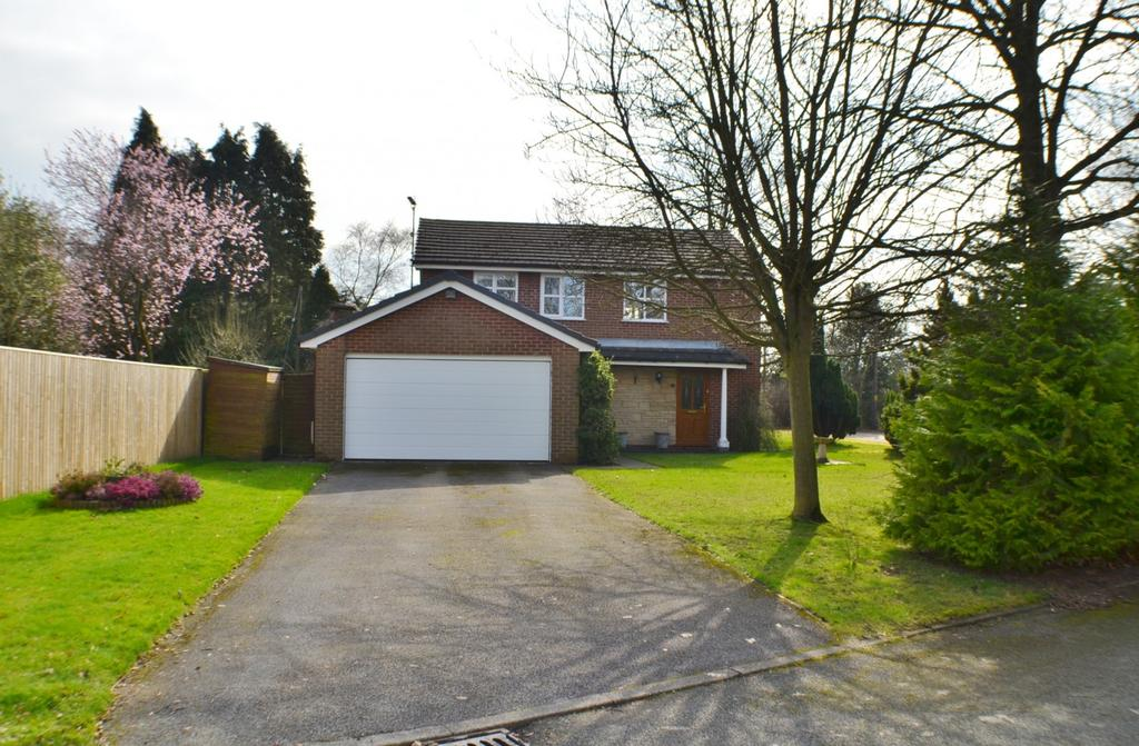 4 Bedrooms Detached House for sale in Nether Lea, Goostrey