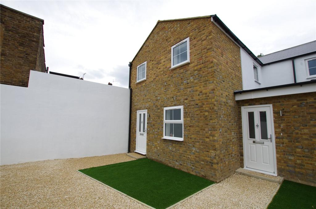 2 Bedrooms End Of Terrace House for sale in Durban Road East, Watford, Hertfordshire, WD18
