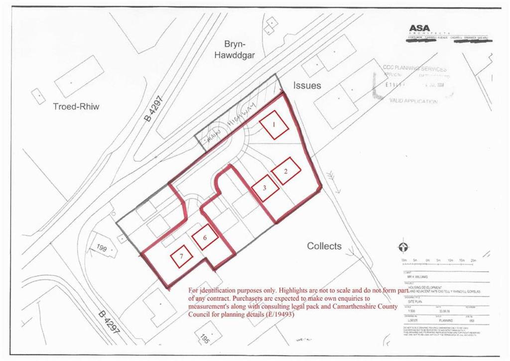 Land Commercial for sale in Clos Y Gat, Carmarthenshire, SA14