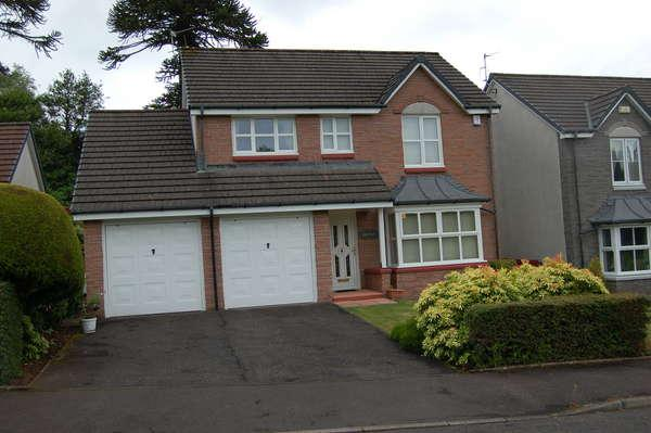4 Bedrooms Detached House for sale in 2 Kelvin Gardens, Largs, KA30 8SX