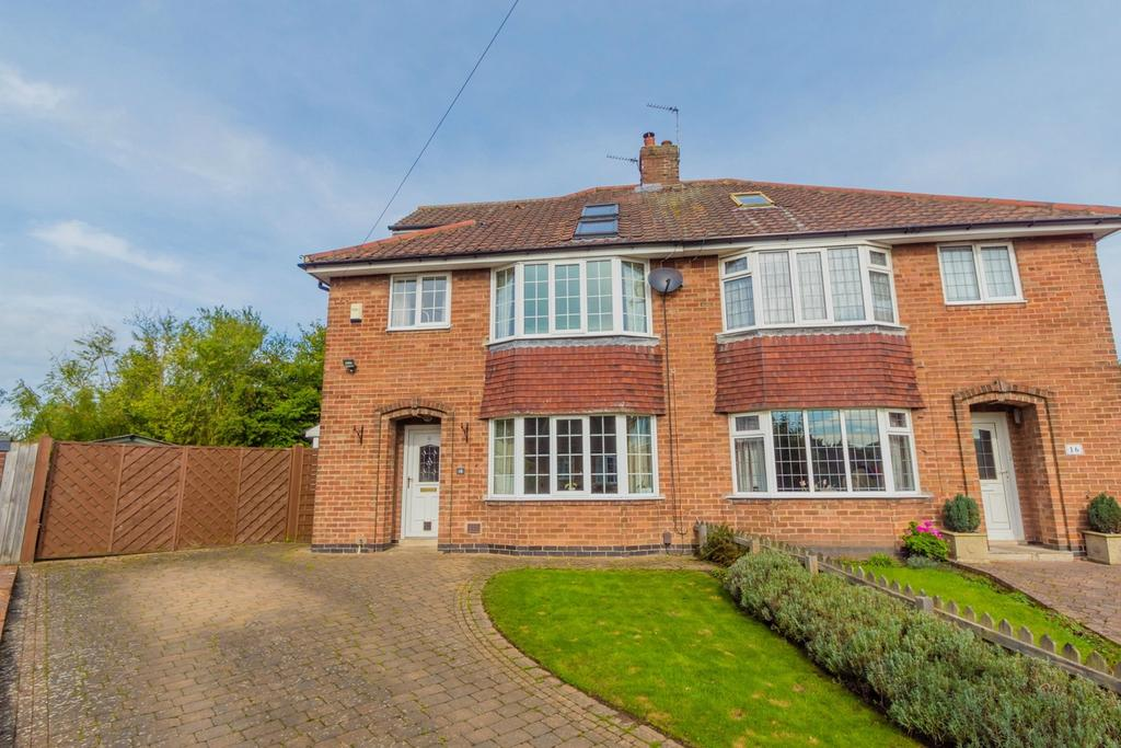 4 Bedrooms Semi Detached House for sale in Ridgeway, YORK