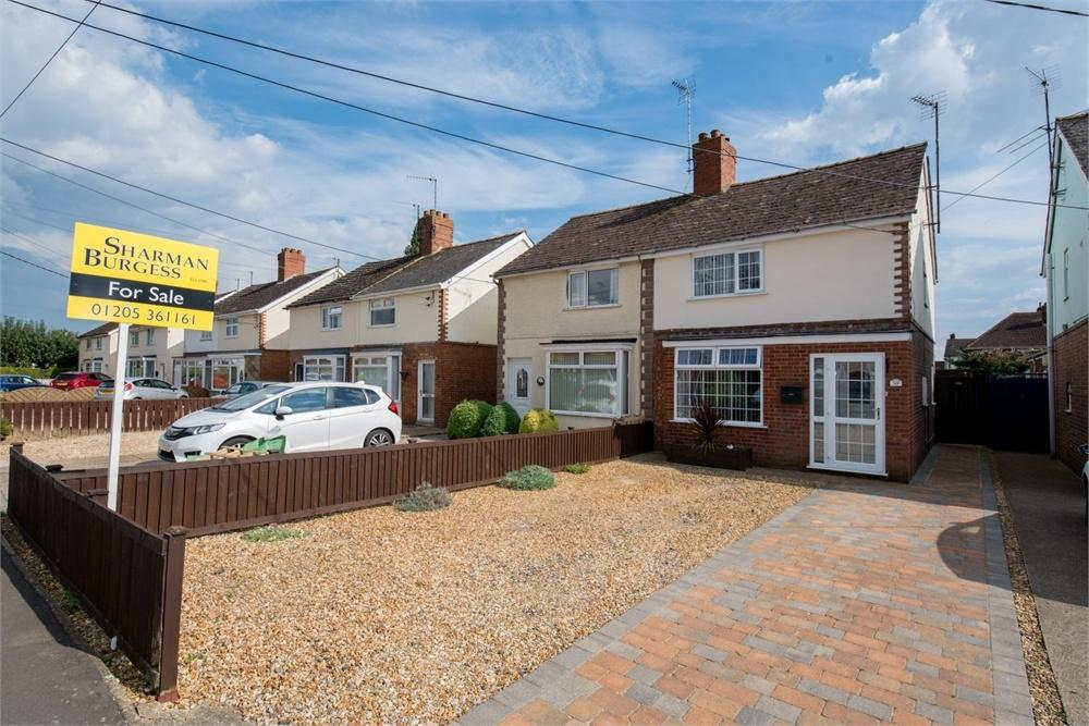 3 Bedrooms Semi Detached House for sale in Granville Avenue, Wyberton, Boston, Lincolnshire