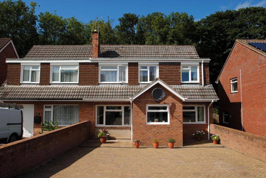 4 Bedrooms Semi Detached House for sale in Meadow Park, Bideford