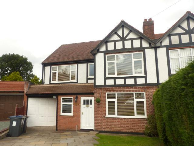 4 Bedrooms Semi Detached House for sale in Clarence Gardens,Four Oaks,Sutton Coldfield