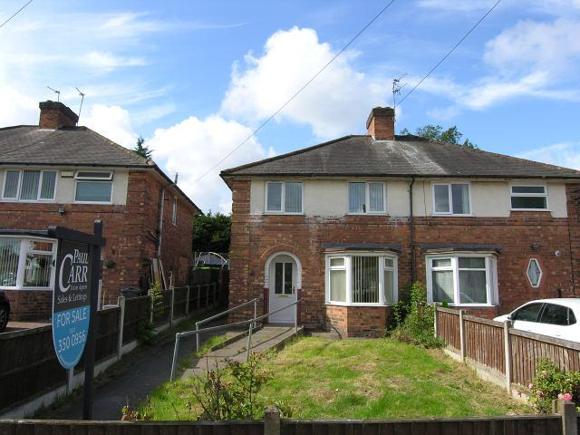 2 Bedrooms Semi Detached House for sale in Aylesbury Crescent,Kingstanding,Birmingham