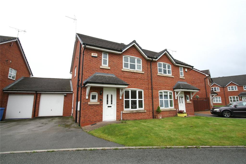 3 Bedrooms Semi Detached House for sale in Spring Gardens, Rhosddu, Wrexham, LL11