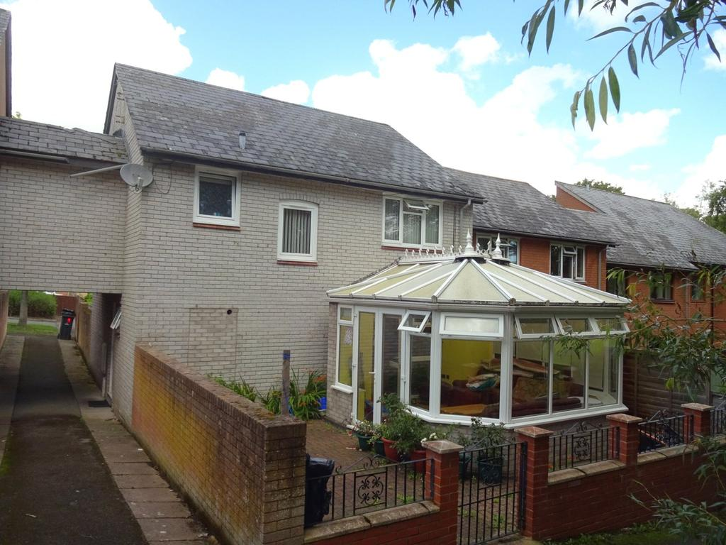 4 Bedrooms End Of Terrace House for sale in Lon Glanyrafon, Newtown, Powys