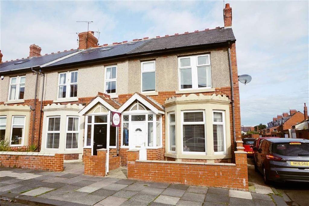 3 Bedrooms Terraced House for sale in Kew Gardens, Whitley Bay, Tyne Wear, NE26