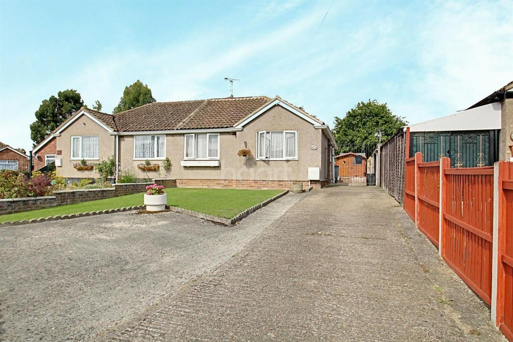 2 Bedrooms Bungalow for sale in Rose Crescent, Colchester