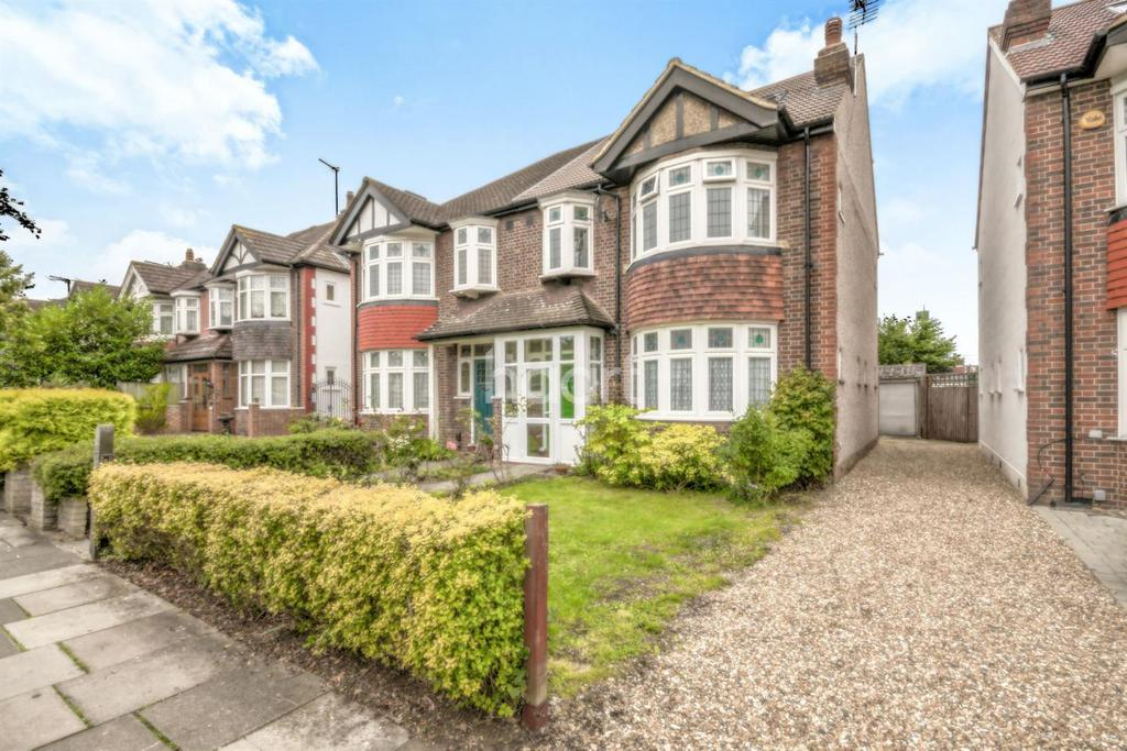 4 Bedrooms Semi Detached House for sale in Grand Drive, Raynes Park, London, SW20