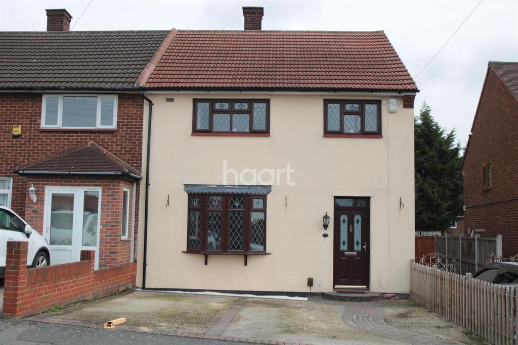3 Bedrooms End Of Terrace House for sale in Aylsham Lane, RM3 7YL
