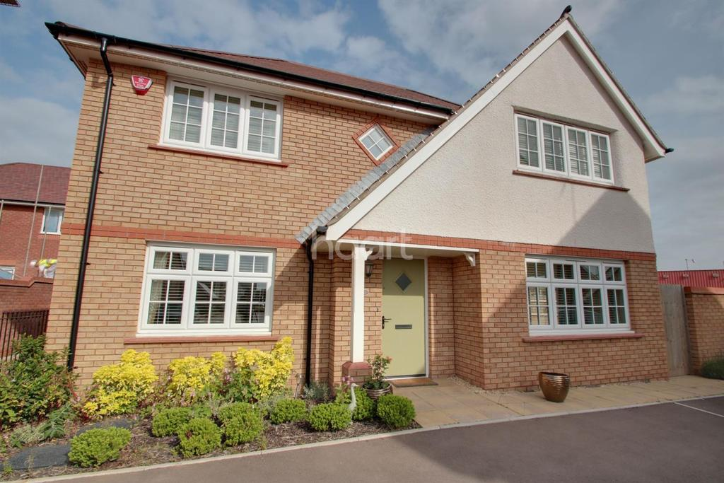 4 Bedrooms Detached House for sale in Llanvair Grange Close, Mon Bank, Newport