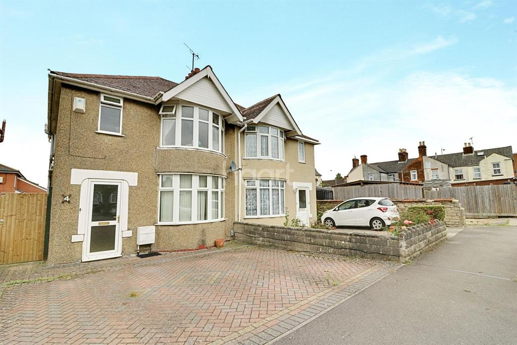 3 Bedrooms Semi Detached House for sale in Malvern Road, Swindon, Wiltshire