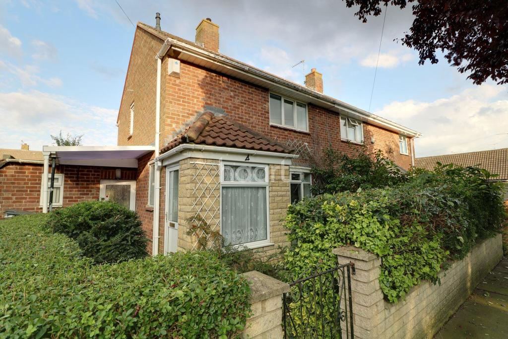 2 Bedrooms Semi Detached House for sale in Sanders Close, Lincoln