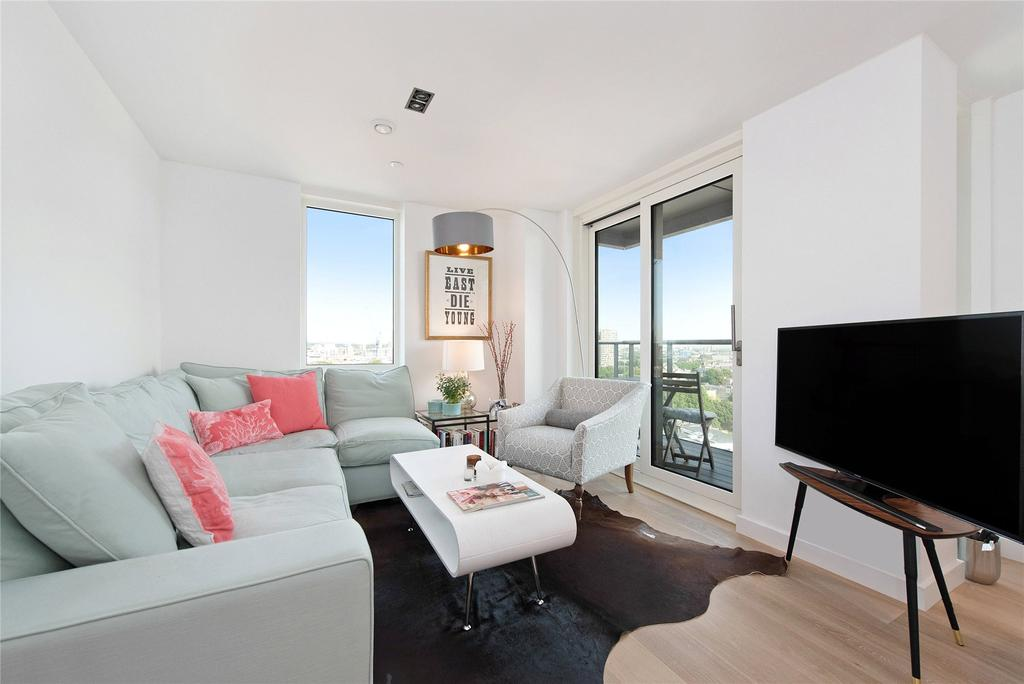 2 Bedrooms Flat for sale in Avantgarde Tower, 1 Avantgarde Place, London, E1