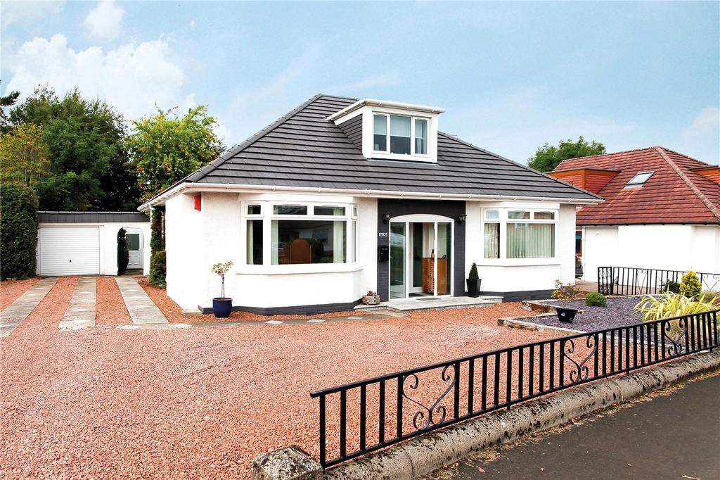 4 Bedrooms Detached Bungalow for sale in Mearns Road, Newton Mearns, Glasgow