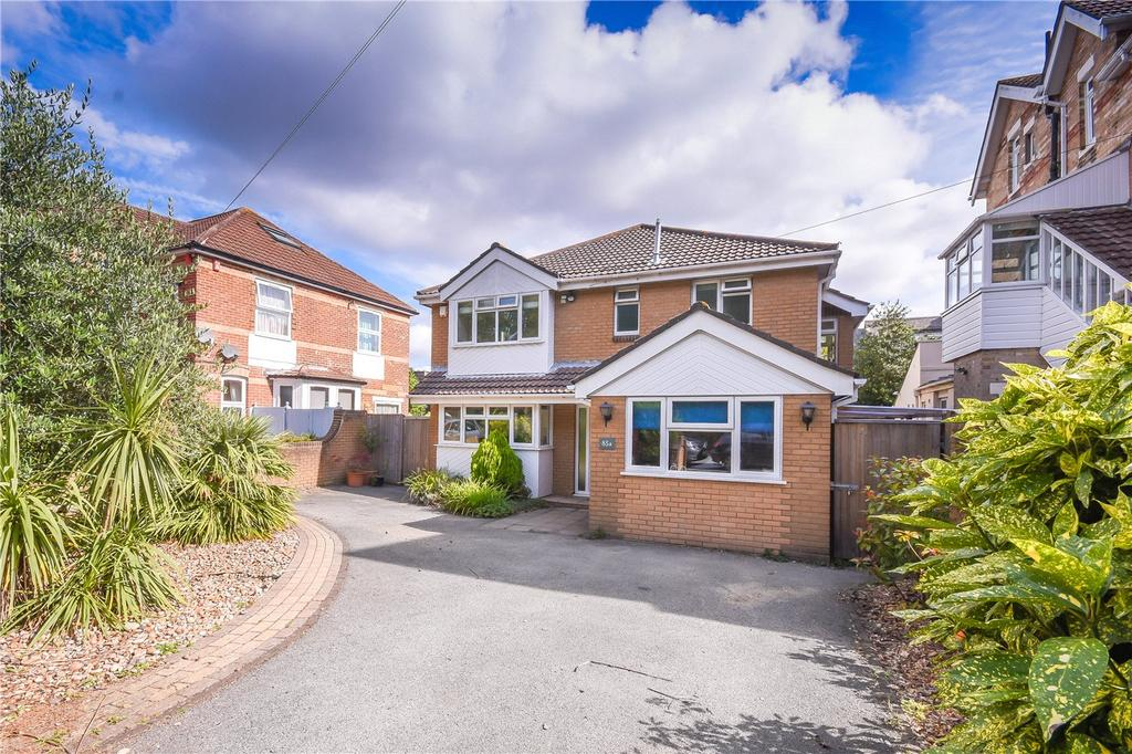 4 Bedrooms Detached House for sale in Alumhurst Road, Bournemouth, Dorset, BH4
