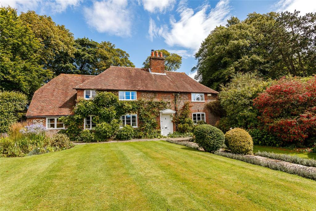 4 Bedrooms Detached House for sale in Park Lane, Upper Swanmore, Southampton, Hampshire