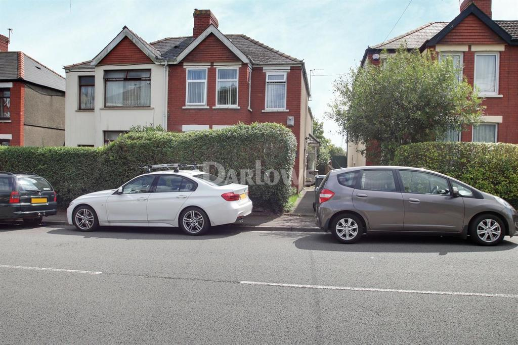 4 Bedrooms Semi Detached House for sale in Wentloog Road, Rumney, Cardiff