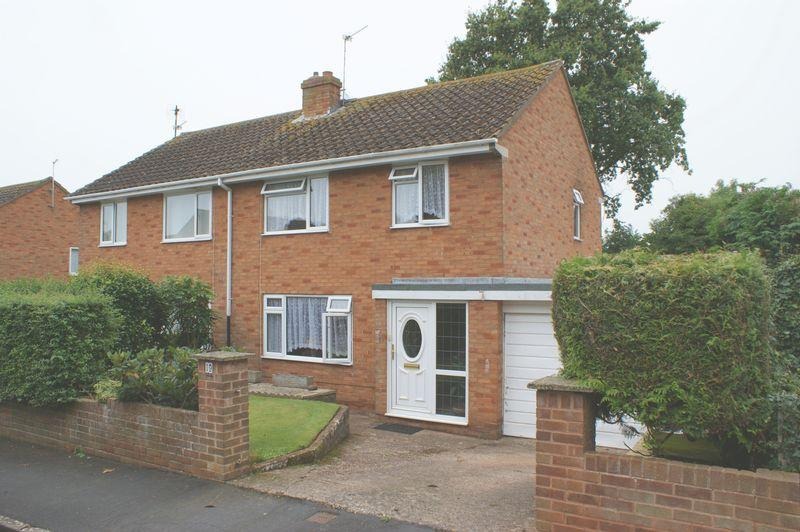 3 Bedrooms Semi Detached House for sale in Clinton Close, Budleigh Salterton
