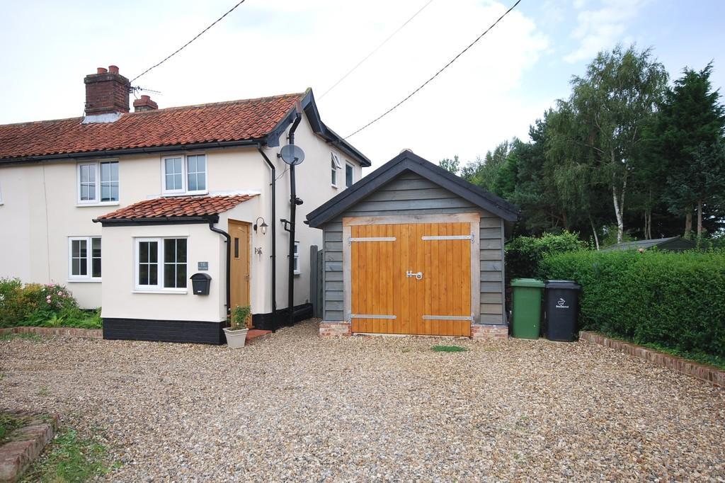 3 Bedrooms Semi Detached House for sale in Old Buckenham, Attleborough