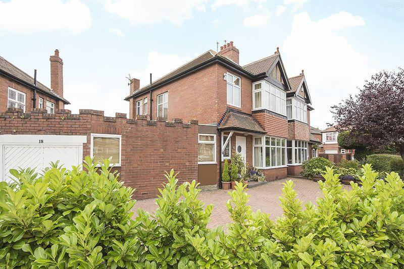3 Bedrooms Semi Detached House for sale in Church Road, Gosforth