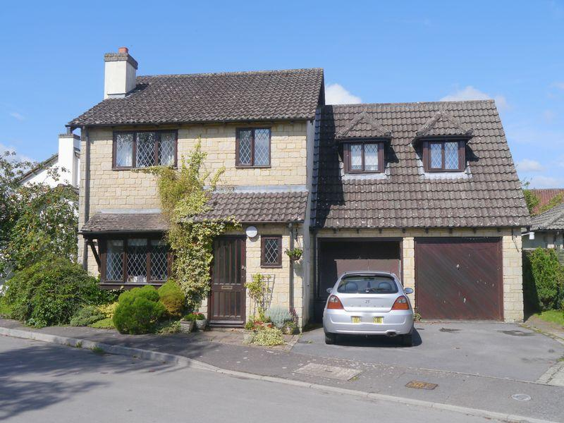 4 Bedrooms Detached House for sale in Glanville Drive, Hinton Blewett