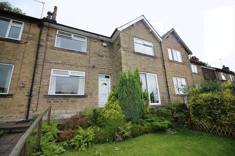 3 Bedrooms Terraced House for sale in Hill Park Mount, Ripponden