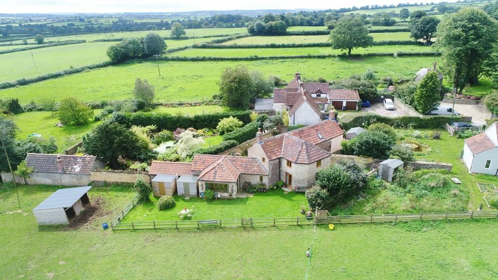 4 Bedrooms Detached House for sale in Upton Noble, Somerset