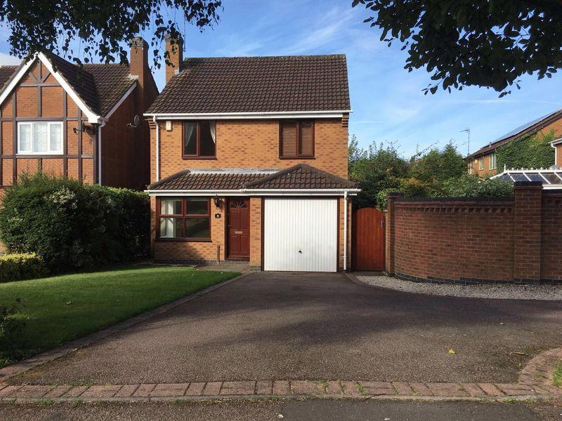 4 Bedrooms Detached House for sale in Wainwright Road, Hugglescote