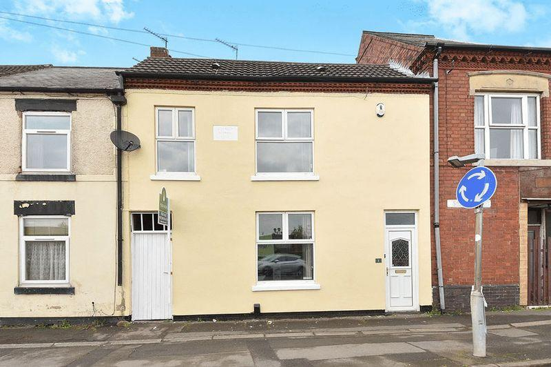 2 Bedrooms Terraced House for sale in Ashby Road, Ibstock
