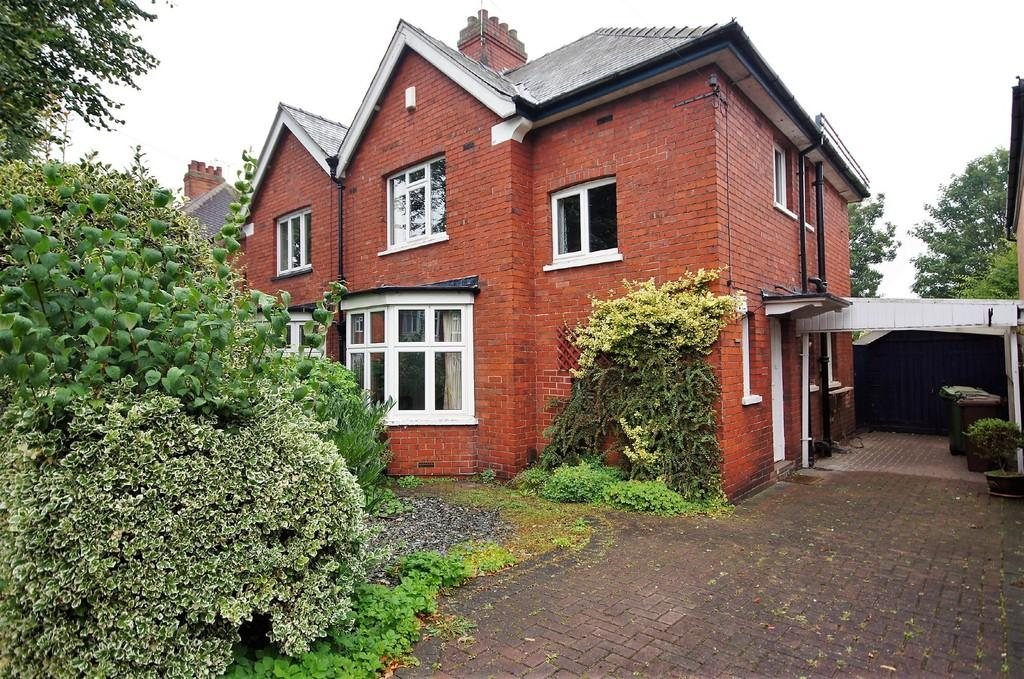 3 Bedrooms Semi Detached House for sale in Egerton Road