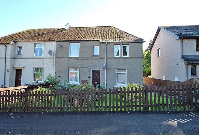 2 Bedrooms Flat for sale in 51 Scott Crescent, Selkirk, TD7 4EG