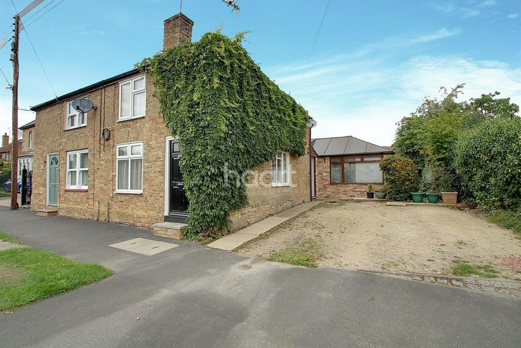 2 Bedrooms Semi Detached House for sale in Main Street, Witchford