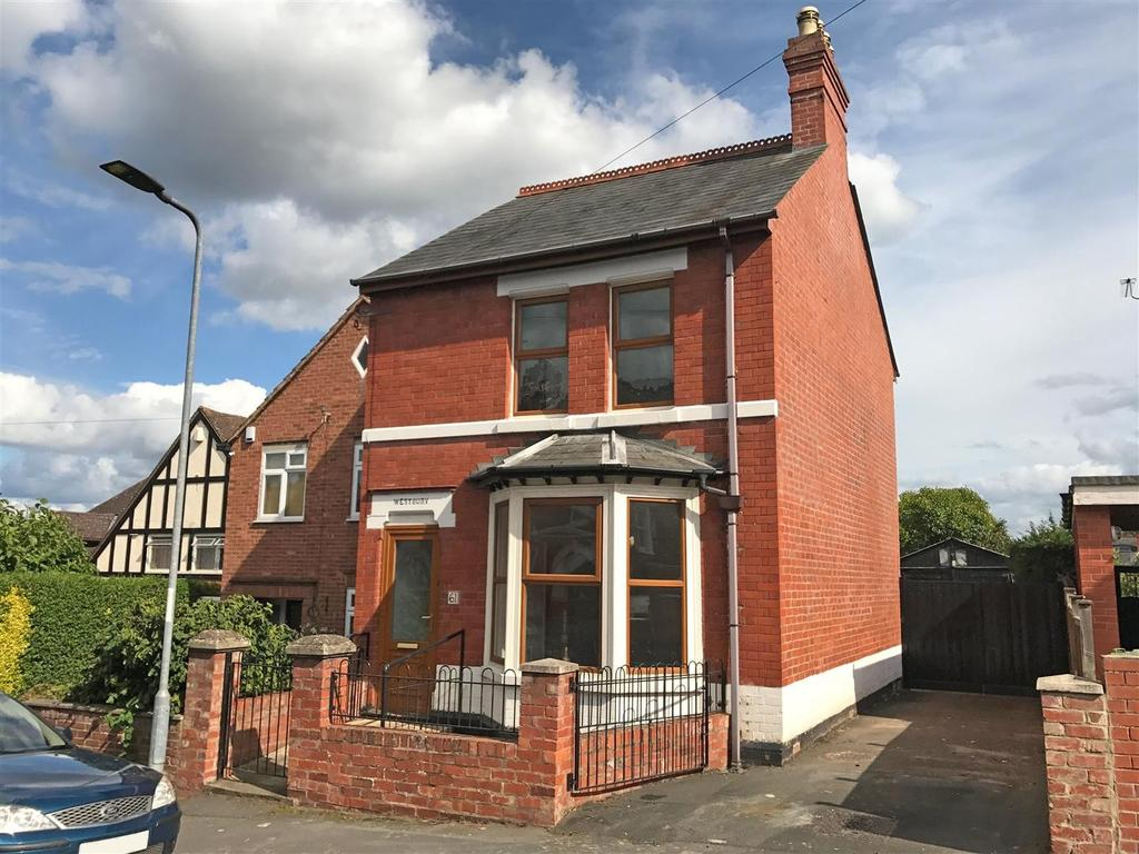 3 Bedrooms Detached House for sale in White Horse Street, Whitecross, Hereford, HR4