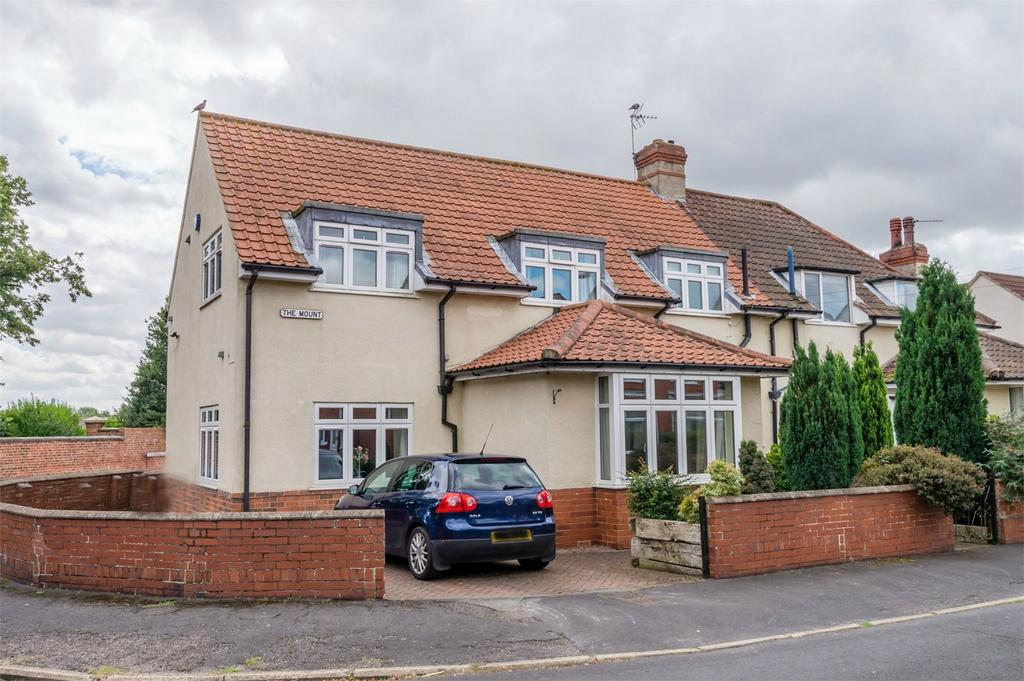 4 Bedrooms Semi Detached House for sale in 1 The Mount, SELBY, North Yorkshire