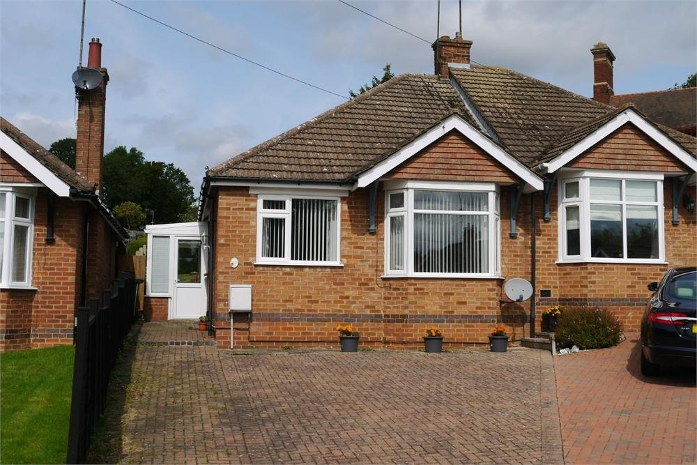 2 Bedrooms Semi Detached Bungalow for sale in Holly Close, Market Harborough, Leicestershire