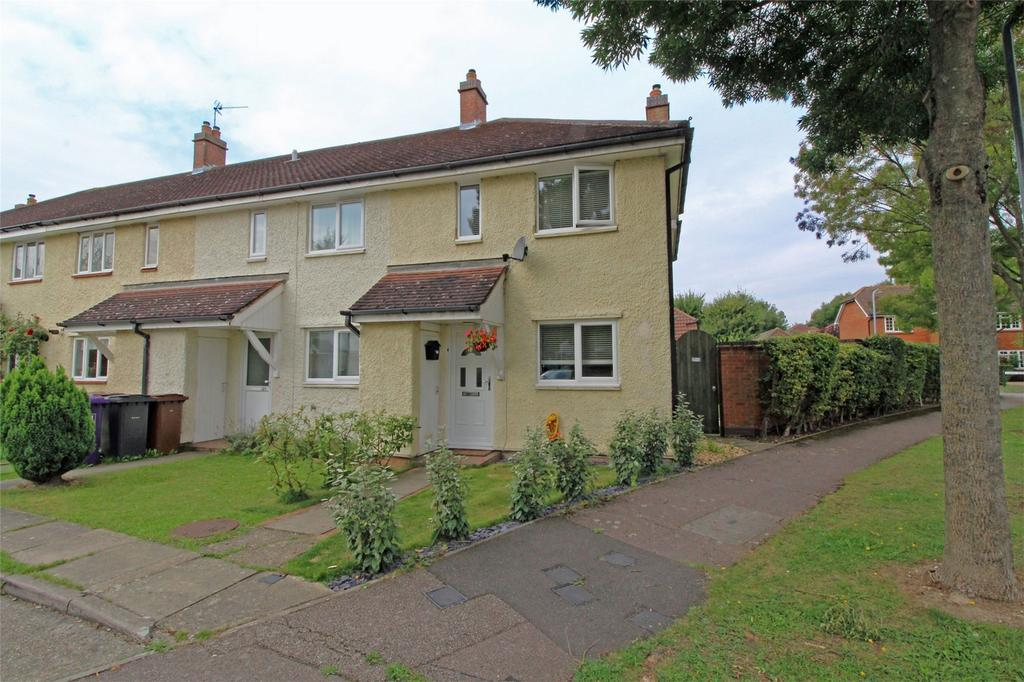 2 Bedrooms End Of Terrace House for sale in Alban Road, Letchworth Garden City, Hertfordshire
