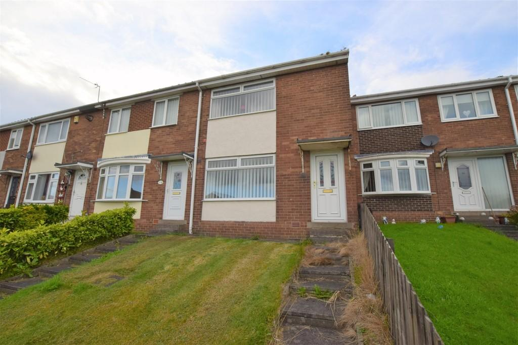 2 Bedrooms Terraced House for sale in Williams Close, East Stanley, Co. Durham
