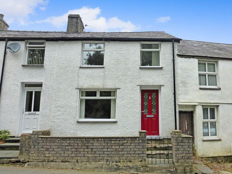 2 Bedrooms Terraced House for sale in Llanberis