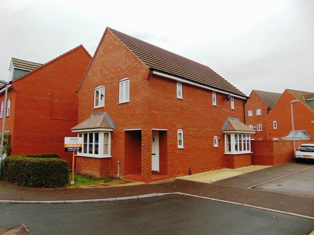 4 Bedrooms Detached House for sale in Robins Corner, Evesham