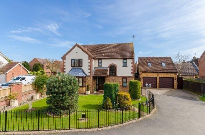 4 Bedrooms Detached House for sale in Estella Way, Spalding, PE11
